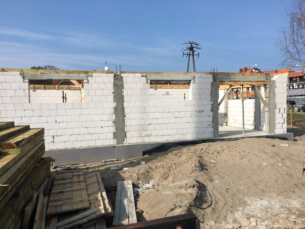 budowa budynku port-krynica
