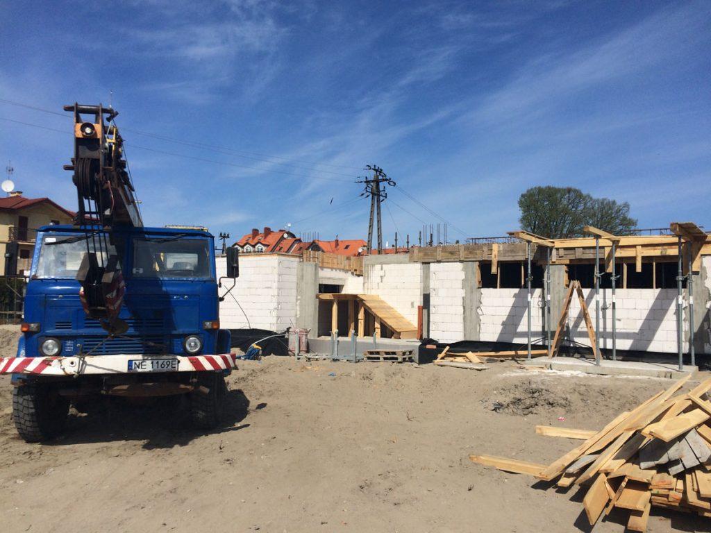 budowa hotelu w krynicy