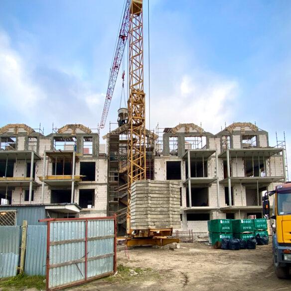 zdjęcie budowy port krynica